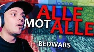HELE LEDELSEN SAMLET! | Bedwars - PvPHeroes | Norsk Minecraft