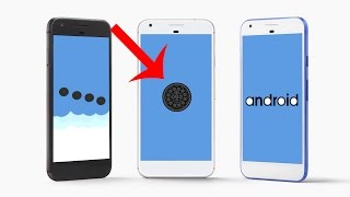 Android Oreo 8.0 Boot Animation Concept