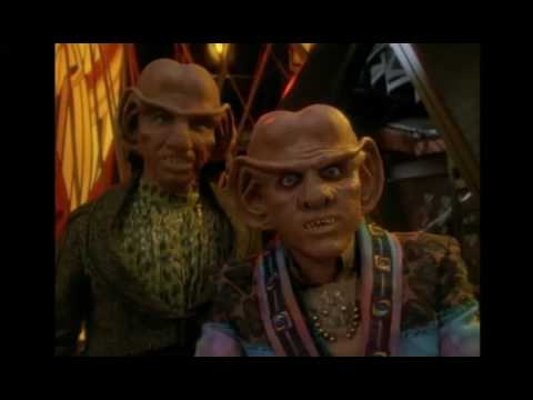 Quark in trouble with FCA (Ferengi Commerce Authority)