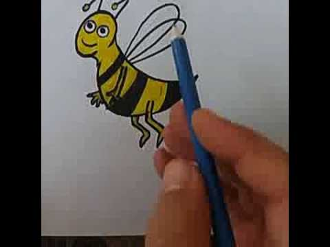 Download How To Draw Bee Easy Step By Step Drawingbee Drawbeeforkids