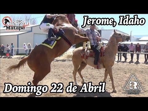 Carreras de Caballos en Jerome, Idaho 22 de Abril 2018