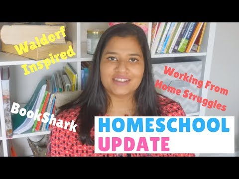 HOMESCHOOL UPDATE | WALDORF INSPIRED | WORKING FROM HOME Struggles | Heart to Heart | Chit Chat