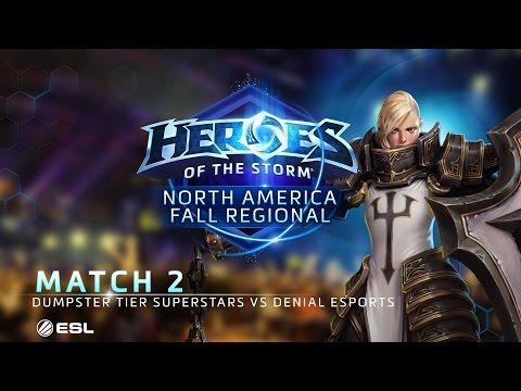 Hots - D.T. Superstars vs Denial Esports - NA Fall Regional #2 - Match 2 | Group A | Upper Bracket