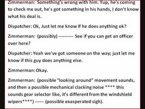 Trayvon Martin Shooting - Zimmerman's COMPLETE 911 Call, With Audio And Transcript