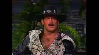 Jesse Ventura | Interview | Tonight Show (08-12-1987)