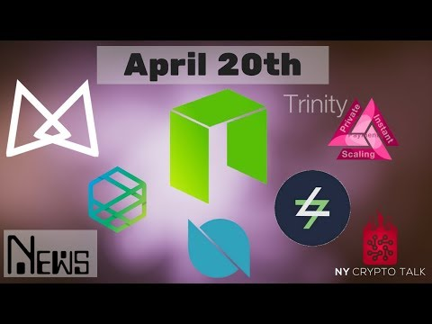 NEO News April 20th 2018 - Thor | Trinity | Ontology | AlphaCat | Switcheo | Zeepin | Effect.AI