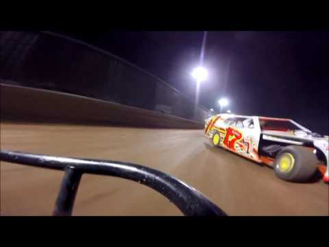 Ohio Valley Speedway Modified Feature 5-28-2016 Larry Bond GoPro