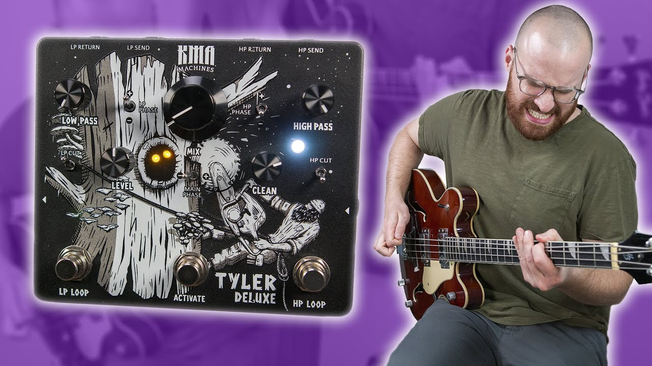 Royal Blood Tone Possibilities At Your Fingertips! - KMA Machines TYLER DELUXE [Bass Demo]