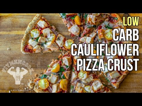 How to Make Low-Carb Cauliflower Pizza Crust