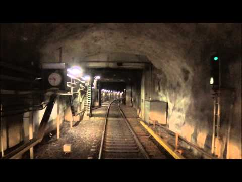 Helsinki Metro Ruoholahti-Itäkeskus. Ohjaamovideo. Cab video.
