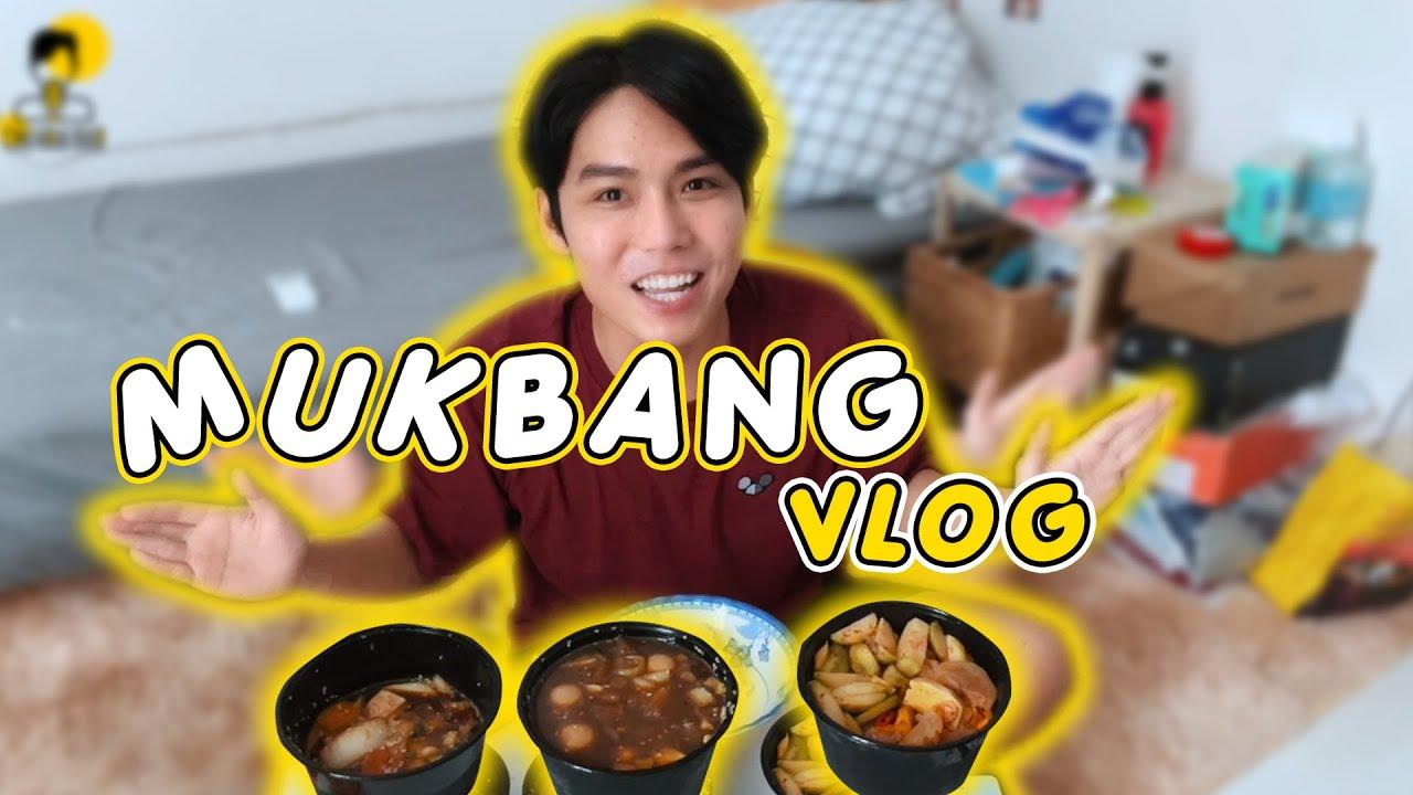 Mukbang Trứng & Cá Hồi Ngâm Tương Mùa Cô Vy cùng Chu Hoài Bảo   Vlog Mùa Dịch