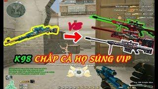 Crossfire : Súng Ngon Hơn Cả VIP | K98 Knight Blue | Đột Kích | Huy Hai Huoc