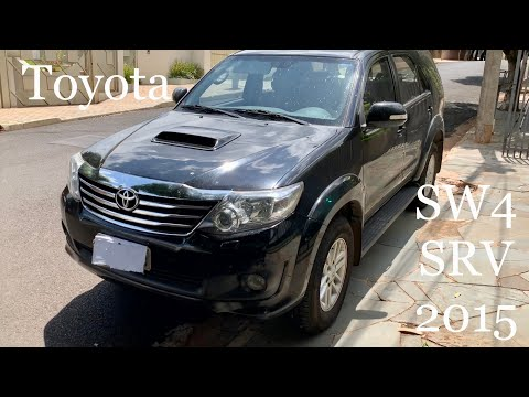 Toyota SW4 2015 Diesel completa - um carro confiável e duradouro