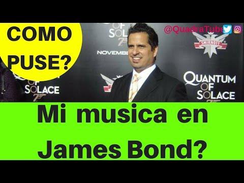 Como puse 3 canciones en una pelicula de JAMES BOND | Quantum of Solace soundtrack