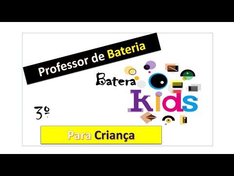 Como dar Aulas de Bateria para Criança – # Aula 03 ( Pop Rock)