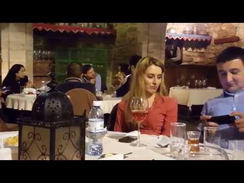 Dinner@Art Garden-Asəf Zeynallı küç, Bakı, Azerbaijan (1080p60 HD)
