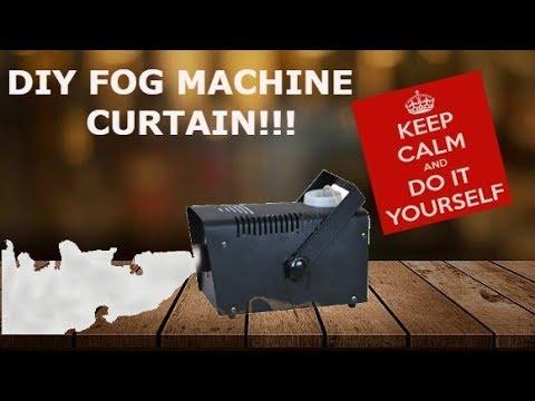 home made fog curtain - youtube