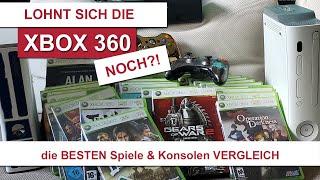 Lohnt sich die Xḃox 360 noch? Die BESTEN exklusiv Spiele und Konsolen VERGLEICH