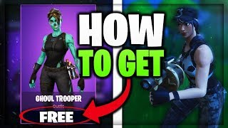 FREE GHOUL TROOPER! HOW TO GET! // NEW ROCKET BUFF IN FORTNITE BATTLE ROYALE!