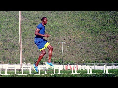 Training Usain Bolt & Serena Williams!!!