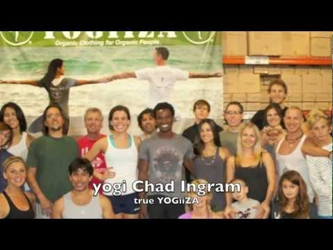 "true YOGiiZA Chad Ingram ""I like organic cotton yoga clothes"""