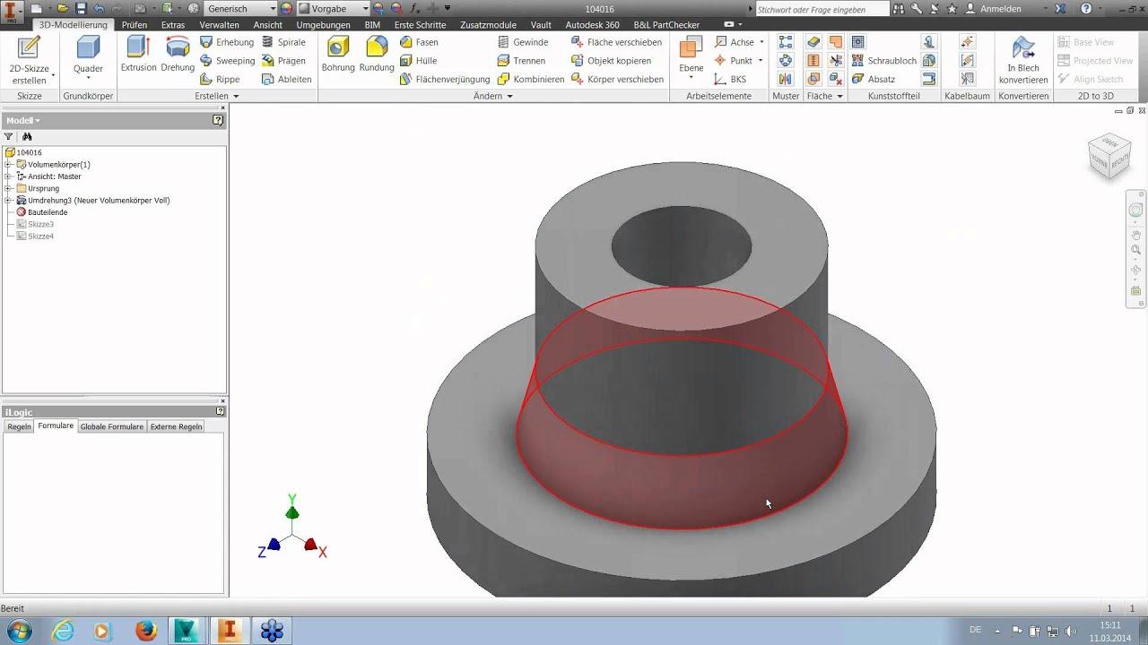 Online Workshop ≡ Autodesk Inventor Parametrisierung Teil 1 ...
