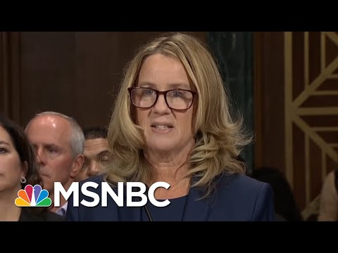 President Donald Trump Tweets Support For Brett Kavanaugh After Testimonies | Hardball | MSNBC