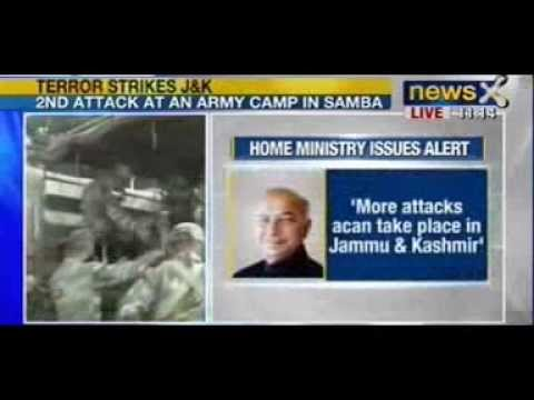 Breaking News : 2 Attacks in 2 hours in Jammu and Kashmir
