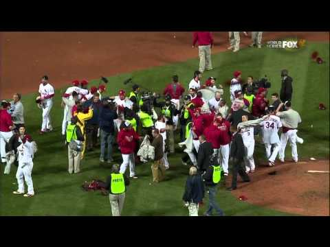 St. Louis Cardinals Win 2011 World Series