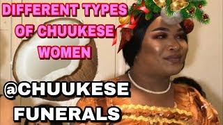CHUUKESE WOMEN AT CHUUKESE FUNERALS
