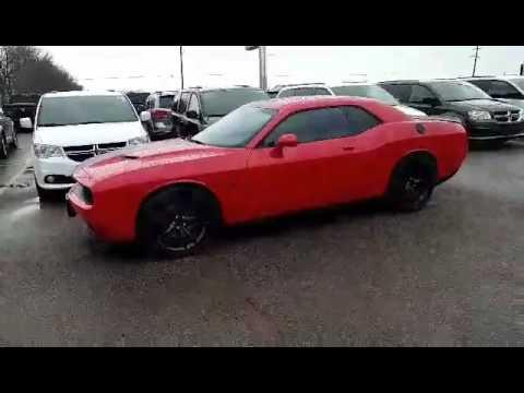 2016 Dodge Challenger R T Blacktop Stock 30892