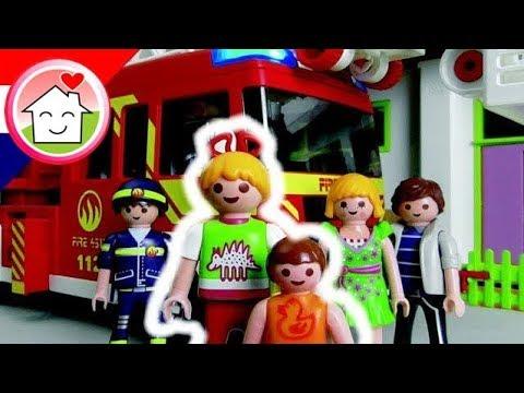 playmobil filmpjes nederlands de schoorsteen brand - brandweer