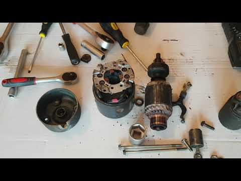 Suzuki Wagon R + Car Starter Repair At Home