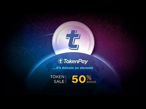 TokenPay magyar ICO bemutató.