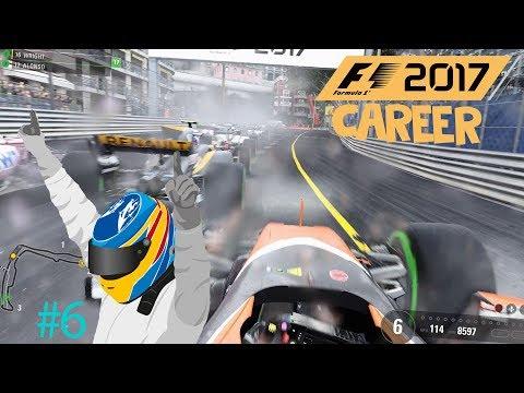 F1 2017 - Formula One Monaco Grand Prix (Stupid Strategy)