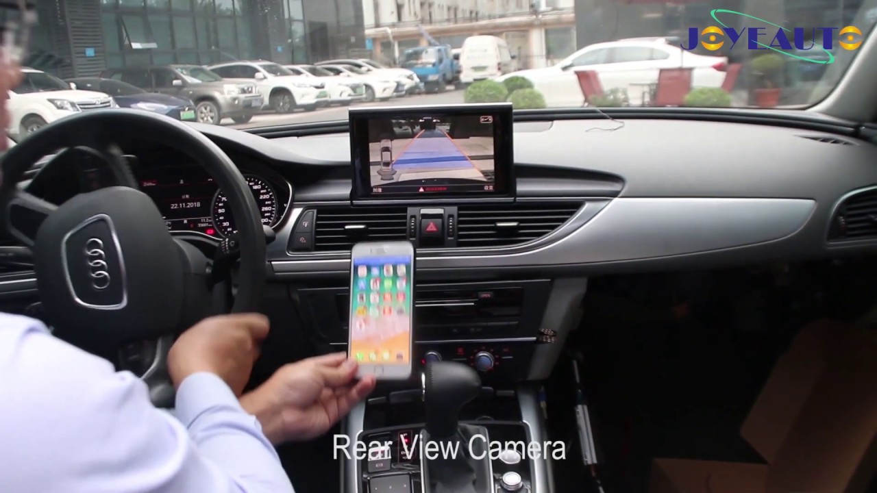 Wireless Apple CarPlay Retrofit for Audi A6 A7 C7 MMI 3G