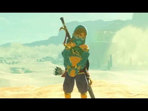 Tloz Breath Of The Wild Link Wearing Girl Clothes Youtube