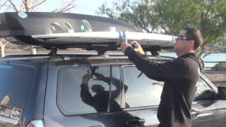 How to transport your surf or SUP board