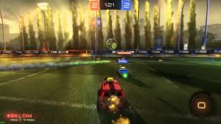 Rocket League - Windows 10 Xbox App DVR test (Game bar)