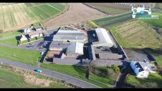 Dowhill Country Fayre - Restaurant & Farm Shop - By Turnberry, Ayrshire - Drone Filming