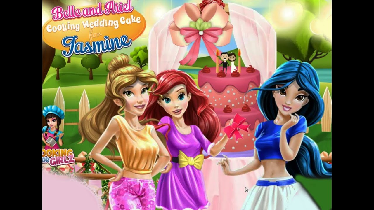 Jasmine Wedding Cake Belle And Ariel Cooking Weding For