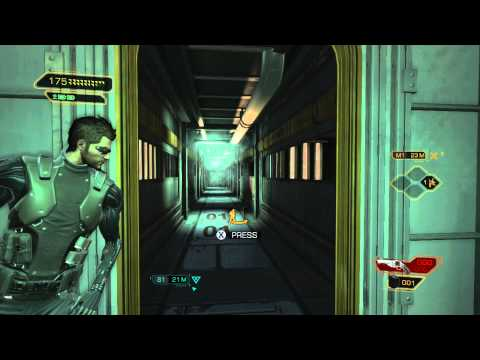 Deus Ex: Human Revolution DC - The Missing Link: Find Cause of Disturbance: Gantry Controls, Outside