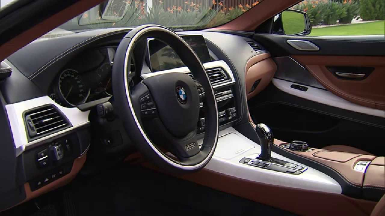 Interior Design 2015 BMW 6 Series Gran Coupe