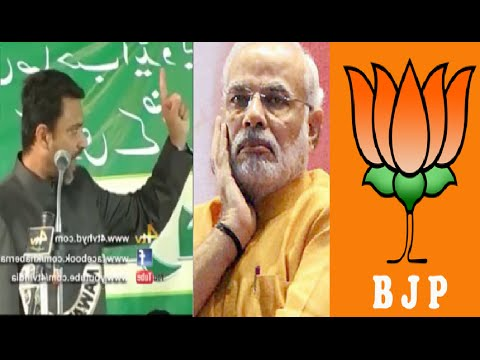 Akbaruddin Owaisi Angry Reaction Great Speech On PM Modi BJP RSS UP Election 2017