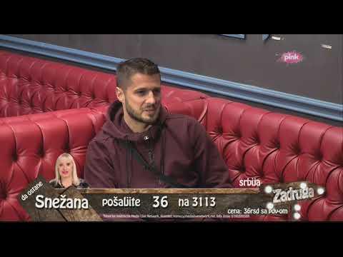Zadruga 2 - Ognjenov intervju sa Markom Miljkovićem - 03.02.2019.