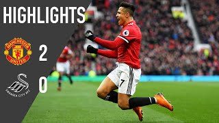 Manchester United 2-0 Swansea | Premier League Highlights (17/18) | Manchester United