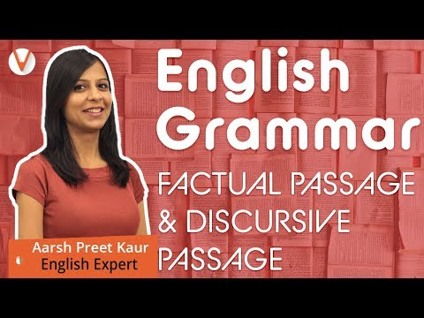CBSE Class 10 English 2019 - Factual and Discursive Passage - YouTube
