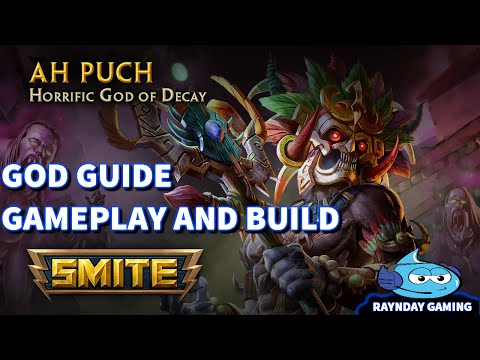 Smite God Guide: Ah Puch Gameplay and Build - CRAZY BURST DAMAGE!