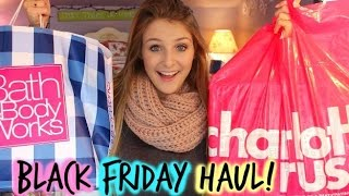 BLACK FRIDAY HAUL 2014 | Clothing, Room Decor & More!