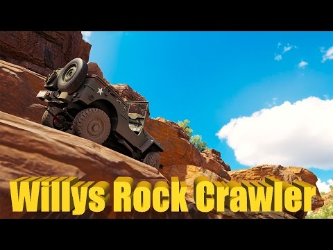 Forza Horizon 3 Jeep Willys ROCK CRAWLER Build